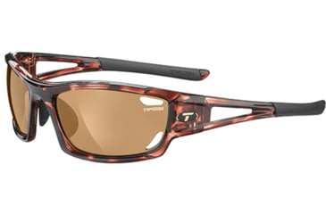 Tifosi Optics Dolomite 2.0 w/ EC, GT, Brown Lenses, Tortoise Frame 1020201013