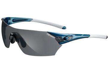 Tifosi Optics Podium w/ EC, GT, Smoke Lenses, Sky Blue Frame 1000203615