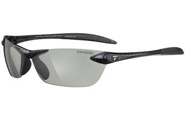 Tifosi Optics Seek w/ Smoke Fototec Lenses, Gloss Carbon Frame 0180305234