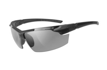 23f496ce5f3e Tifosi Optics Z87.1 Jet FC Tactical Safety Sunglasses, Smoke Lenses, Matte  Black