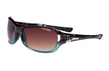 Tifosi Dea Single Vision Prescription Sunglasses - Blue Tortoise Frame 0090105407