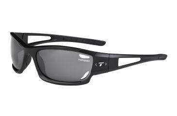 Tifosi Dolomite Single Vision Prescription Sunglasses - Matte Black Frame 0080100101