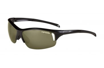 Tifosi Envy Sunglasses - Gloss Black Frame, GT/EC/AC Red Lenses 0100200210