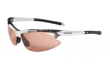 Tifosi Pave' Sunglasses - Gunmetal Frame, High Speed Red Fototec Lenses 0130300330