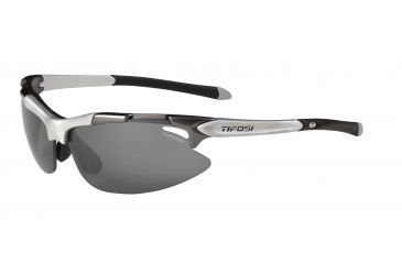 Tifosi Pave Sunglasses - Gunmetal Frame, Smoke/AC Red/Clear Lenses 0130100301