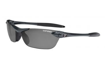 Tifosi Seek Sunglasses - Gunmetal Frame, Smoke Polarized Lenses 0180500351