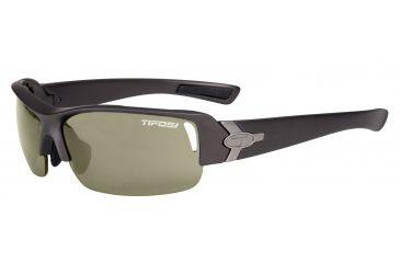 Tifosi Slope Sunglasses - Magnesium Frame, GT/EC/AC Red Lenses 0030200810