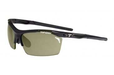 Tifosi Tempt Sunglasses - Matte Black Frame, GT/EC/AC Red Lenses 0140200110