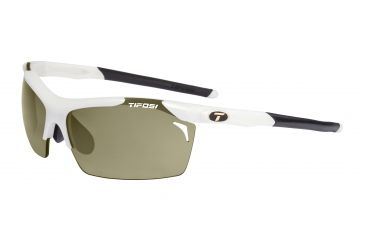 Tifosi Tempt Sunglasses - Matte White Frame, GT/EC/AC Red Lenses 0140201210