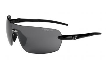 Tifosi Vogel Sunglasses - Gloss Black Frame, Smoke Lenses 0170400270