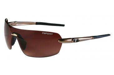 Tifosi Vogel Sunglasses - Gold Frame, Brown Gradient Lenses 0170404479