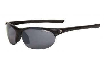 Tifosi Wisp Sunglasses - Matte Black Frame, Smoke/AC Red/Clear Lenses 0040100101