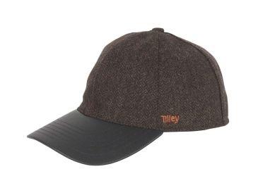 f1bde0f7 Tilley Mens Tec-Wool Ball Cap, Olive Herringbone, Large, TBC1-Olive