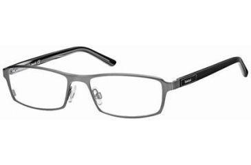 Timberland TB1217 Eyeglass Frames - Matte Dark Ruthenium Frame Color