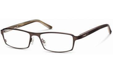 Timberland TB1217 Eyeglass Frames - Shiny Dark Brown Frame Color
