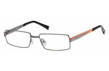 Timberland TB1218 Eyeglass Frames - Shiny Gun Metal Frame Color
