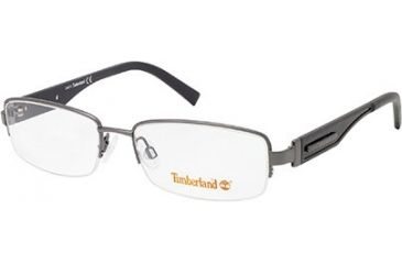 Timberland TB1241 Eyeglass Frames - Shiny Dark Ruthenium Frame Color
