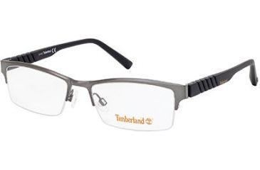 Timberland TB1255 Eyeglass Frames - Shiny Light Ruthenium Frame Color