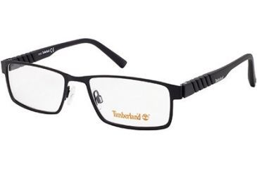 Timberland TB1256 Eyeglass Frames - Shiny Black Frame Color