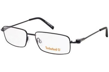 Timberland TB1257 Eyeglass Frames - Shiny Black Frame Color