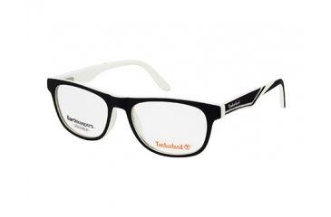 Timberland TB1267 Eyeglass Frames - Black / White Frame Color