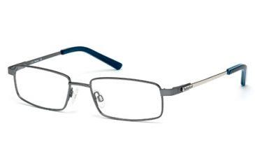 Timberland TB1271 Eyeglass Frames - Matte Gun Metal Frame Color