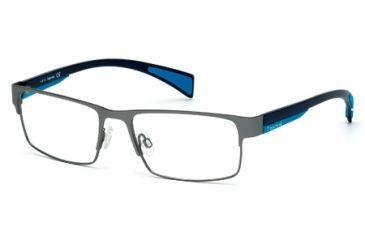 Timberland TB1274 Eyeglass Frames - Matte Gun Metal Frame Color