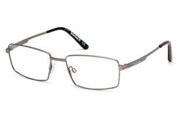 Timberland TB1277 Eyeglass Frames - Matte Gun Metal Frame Color