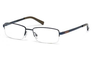 Timberland TB1280 Eyeglass Frames - Shiny Blue Frame Color