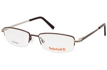 Timberland TB1525 Eyeglass Frames - Shiny Dark Brown Frame Color
