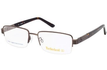 Timberland TB1534 Eyeglass Frames - Shiny Dark Brown Frame Color