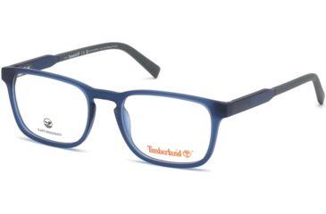 ab7d06c0334 Timberland TB1624 Eyeglass Frames - Matte Blue Frame Color