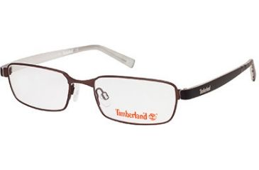 Timberland TB5045 Eyeglass Frames - Matte Dark Brown Frame Color