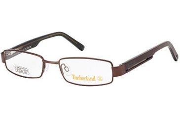 Timberland TB5047 Eyeglass Frames - Shiny Dark Brown Frame Color
