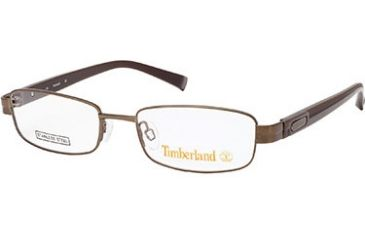 Timberland TB5048 Eyeglass Frames - Shiny Dark Brown Frame Color