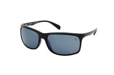 Timberland TB9002 Sunglasses - Shiny Black / Smoke Frame Color