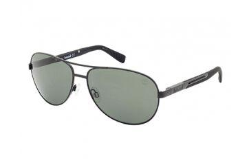 Timberland TB9058 Sunglasses - Matte Black Frame Color, Smoke Lens Color
