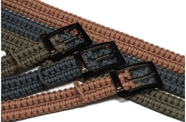Timberline Knives Paracord Survival Belt, Black, Small 5101