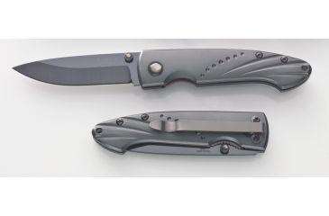 "Timberline Knives Small Ceramic Blade Folder- Aluminum Handle, 2.75, Black, 2.75"" 8012"