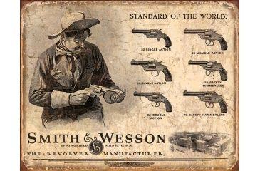 Tin Signs S&W Revolvers Tin Sign TSN1743