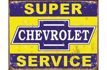 Tin Signs Super Chevy Service Tin Sign TSN1355