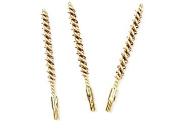Tipton 22 Caliber Rifle Bronze Best Bore Brush, Shelf Pack of 3