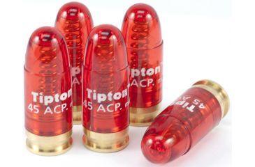 Tipton Snap Cap - 45 ACP, Pack of 5