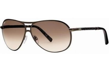 Tod's TO0008 Sunglasses - Shiny Dark Brown Frame Color