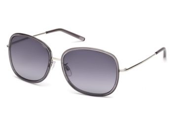 Tod's TO0047 Sunglasses - Grey Frame Color, Gradient Smoke Lens Color