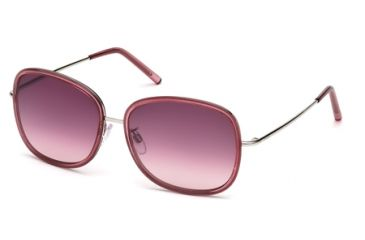 Tod's TO0047 Sunglasses - Bordeaux Frame Color, Gradient Bordeaux Lens Color