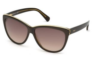 Tod's TO0094 Sunglasses - Light Brown Frame Color