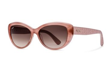 Tod's TO0112 Sunglasses - Pink Frame Color, Gradient Brown Lens Color