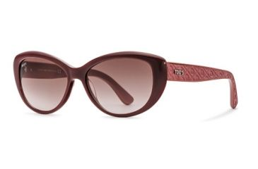 Tod's TO0112 Sunglasses - Shiny Fuxia Frame Color, Gradient Brown Lens Color