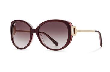 Tod's TO0113 Sunglasses - Shiny Bordeaux Frame Color, Gradient Lens Color